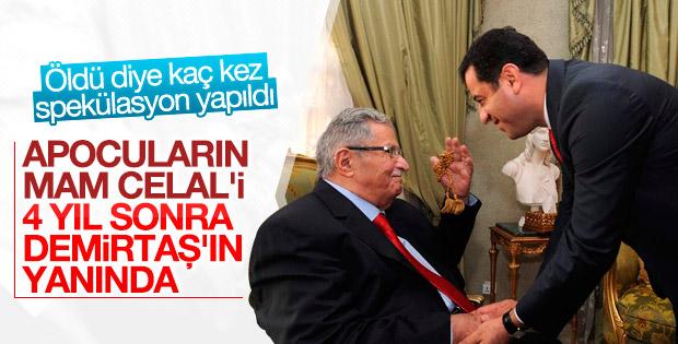 Demirtaş, Celal Talabani ile görüştü