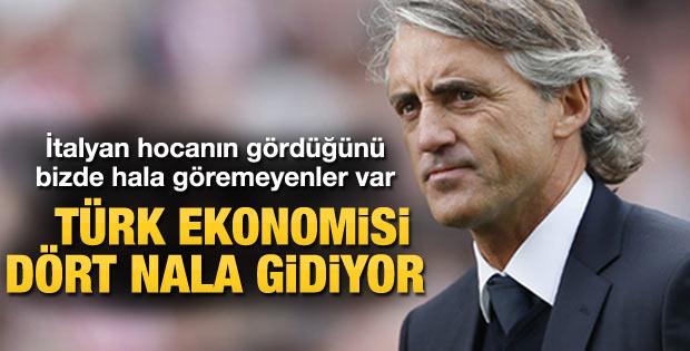Mancini'den Türkiye hakkında övgü dolu sözler