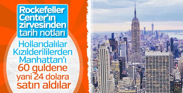 Manhattan 24 dolara Hollanda'ya satıldı: 1624