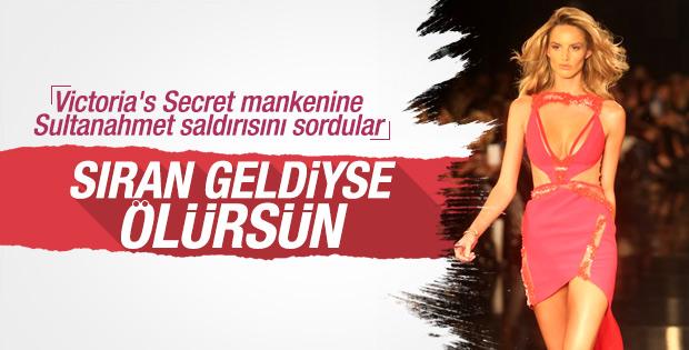 Victoria's Secret mankeni Sultanahmet'i yorumladı