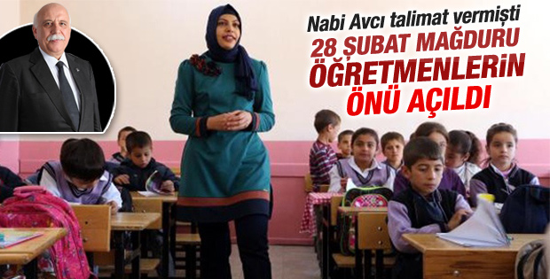 28 Şubat mağduru öğretmenlere müjde