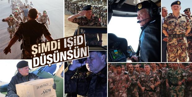 Ürdün Kralı Abdullah IŞİD'e karşı harekete geçti