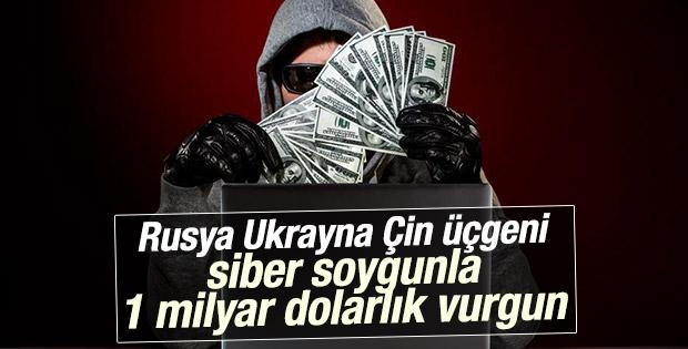 Hackerlar iki yılda 1 milyar dolardan fazla para çaldı