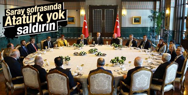 Erdoğan'ın Cumhurbaşkanlığı Sofrası daveti