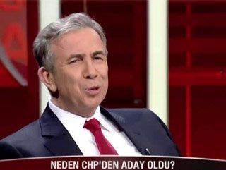 Mansur Yavaş: Beni Gökçek'in tweeti CHP'ye itti