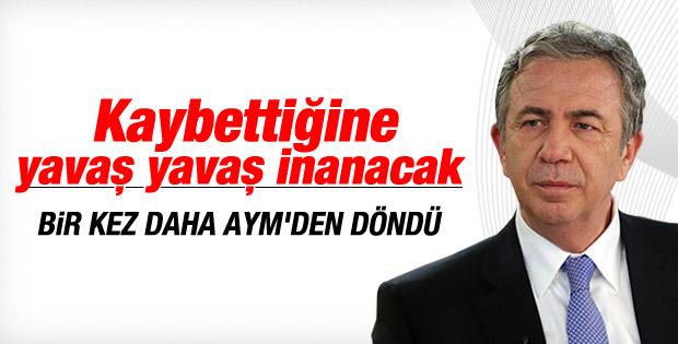 AYM Mansur Yavaş'ın başvurusunu reddetti