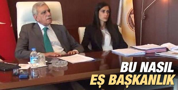 Mardin'in eş başkanına sekreter koltuğu