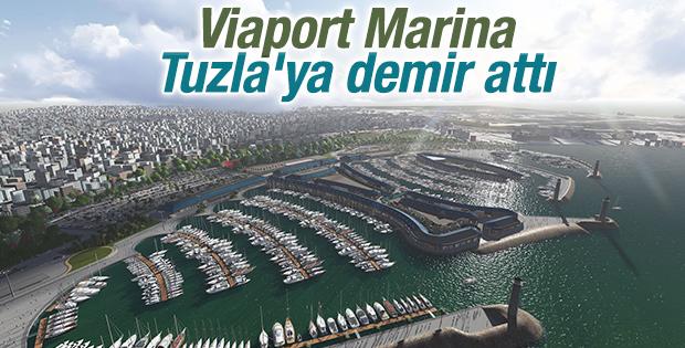 Viaport Marina'nın açılışı gerçekleşti