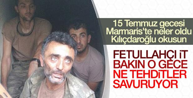 15 Temmuz gecesi Marmaris'te yaşananlar iddianamede