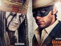 Johnny Deppin Yeni Filmi Maskeli Süvari Gösterildi