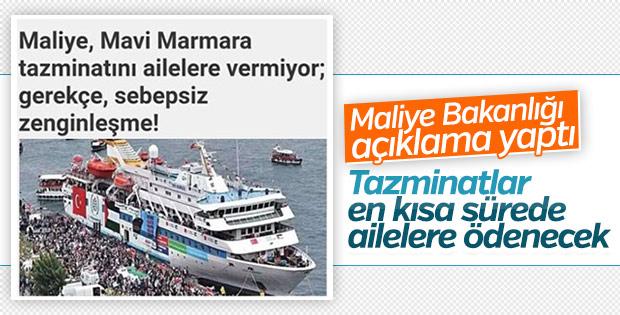 Mavi Marmara tazminatı verilmiyor iddiası