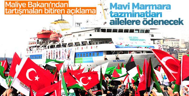 Maliye Bakanı Naci Ağbal'dan Mavi Marmara açıklaması