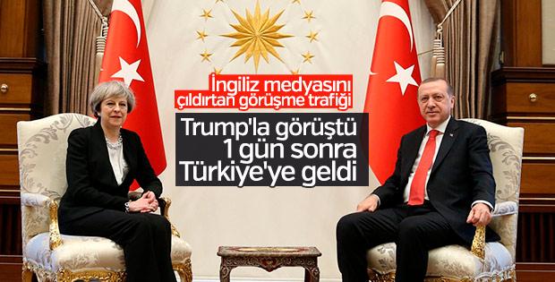 İngiltere Başbakanı Ankara'da