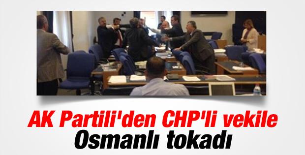 Meclis'te yumruklu kavga İZLE