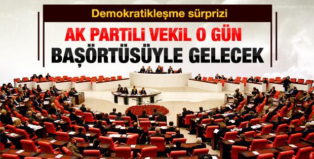 AK Partili kadın vekiller Meclis'e başörtüsü ile gelecek