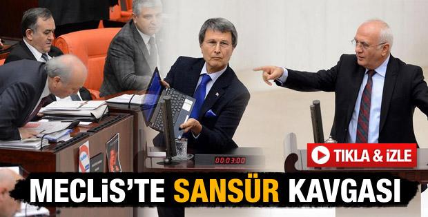 Meclis'te AK Parti-MHP gerginliği