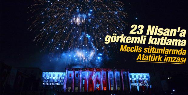 Meclis'te görkemli 23 Nisan kutlaması - İzle