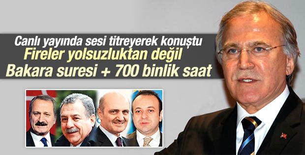 Mehmet Ali Şahin'den Yüce Divan yorumu