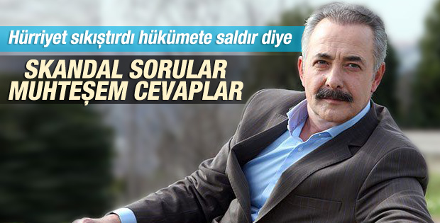 Hürriyet muhabirinden Mehmet Aslantuğ'a tuzak sorular
