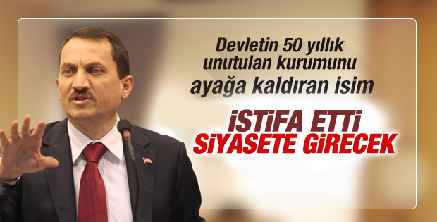 BİK Genel Müdürü Mehmet Atalay istifa etti