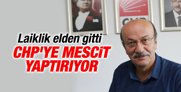 Bekaroğlu CHP'ye mescit yaptırıyor
