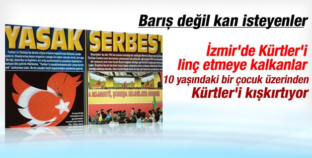 10 yaşındaki Mehmet üzerinden Kürtler'i kışkırtıyorlar