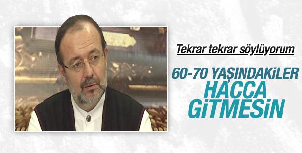 Mehmet Görmez: Hac ibadeti gençken yapılacak bir şeydir