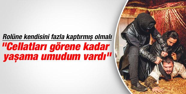 Mehmet Günsür meşhur idam sahnesi hakkında konuştu