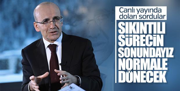 Mehmet Şimşek'ten Türk ekonomisine güven mesajı