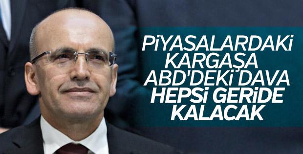 Mehmet Şimşek'e göre piyasadaki kargaşa geçici