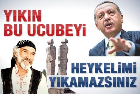 Mehmet Aksoy: O heykeli yıkamazsınız