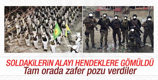 Yüksekova'daki kamuflajlı teröristler öldürüldü