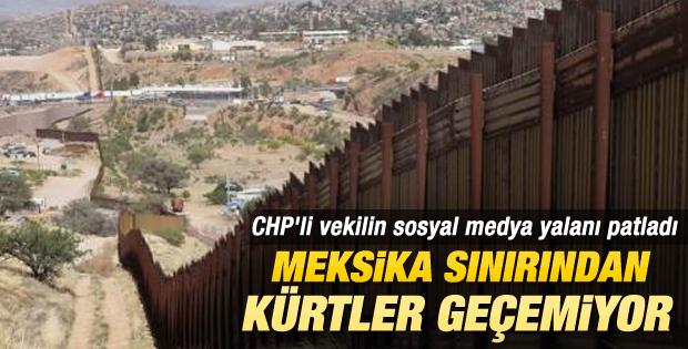 CHP'li Sezgin Tanrıkulu'nun sosyal medya yalanı