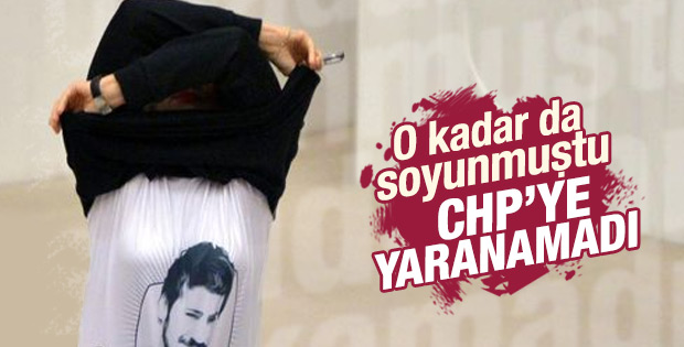CHP Melda Onur'u alt sıralardan aday gösterdi