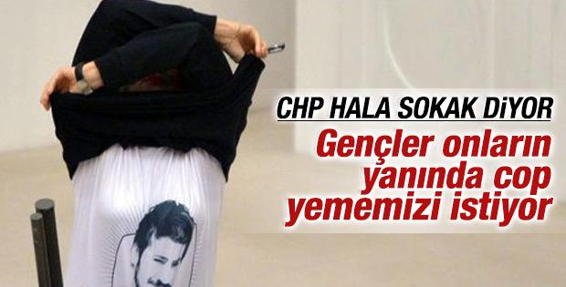 CHP'li Melda Onur yine sokak çağrısı yaptı