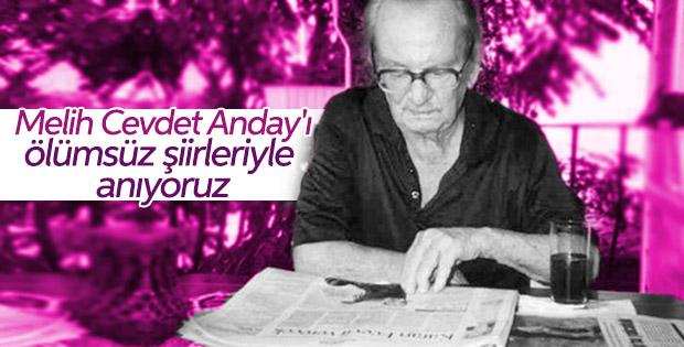 Melih Cevdet Anday'ın ölümsüz şiirlerinden alıntılar