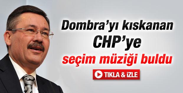 Melih Gökçek CHP'ye seçim müziği buldu - Video