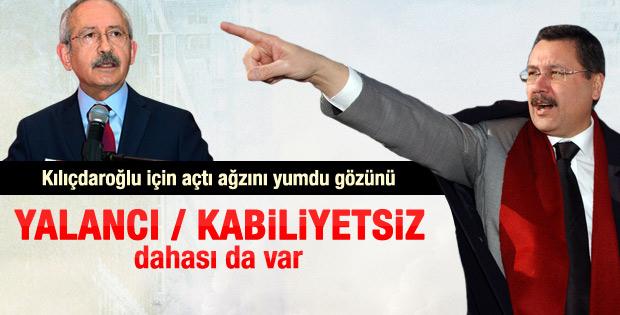 Melih Gökçek: Kemal Kılıçdaroğlu yalancının teki