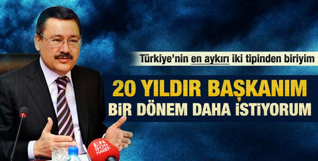 Gökçek: Türkiye'nin en aykırı 2 tipinden biriyim