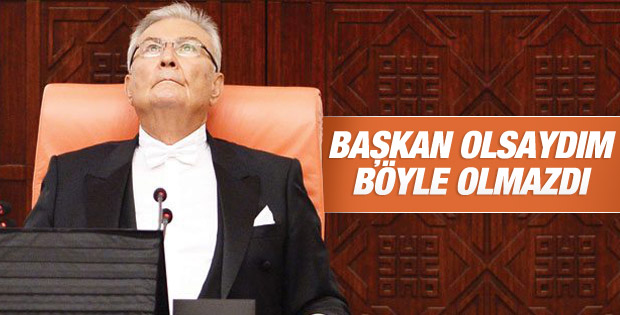 Deniz Baykal'dan Meclis Başkanlığı eleştirisi
