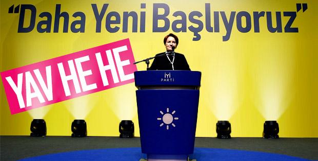 İP Genel Başkanı Meral Akşener oldu