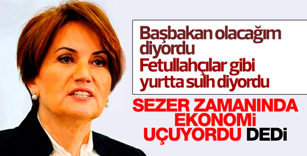 Meral Akşener'den Cumhurbaşkanlığı sistemi yorumu