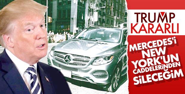 Trump Alman Mercedes'e savaş açtı