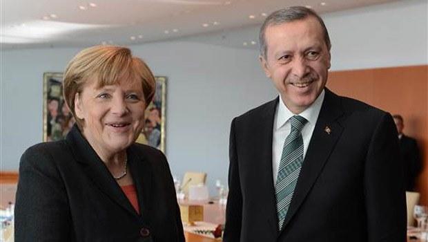 Başbakan Erdoğan ile Merkel'in ortak basın toplantısı