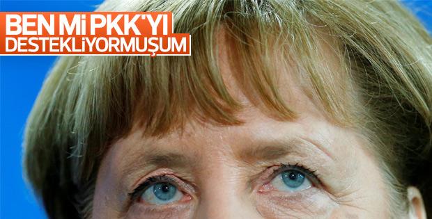 Cumhurbaşkanı Erdoğan'ın açıklamalarına Merkel'den yanıt
