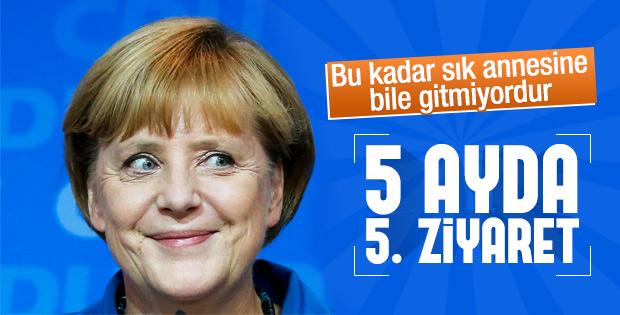 Angela Merkel Türkiye'de