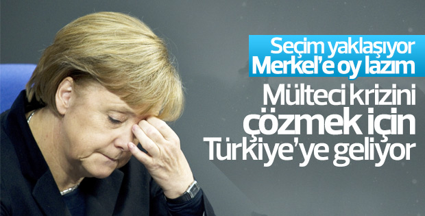 Merkel Ankara'ya geliyor