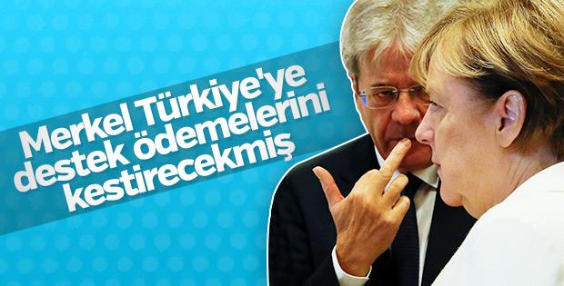 AB'den Türkiye'ye ödenen destek fonlarına kesinti