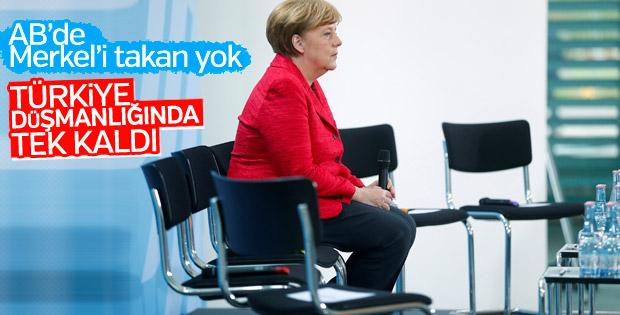 Merkel'in açıklamaları Avrupa Birliği'nde önemsenmedi