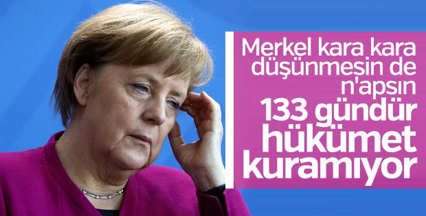 Almanya'da hükümetsiz gün rekoru kırıldı